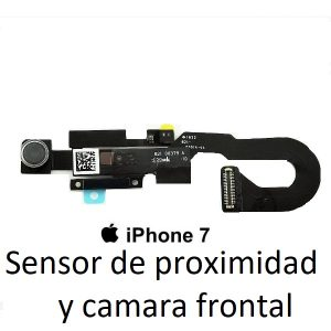 reparacion de camara frontal de iphone 7